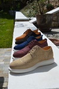 Casual Schuhe C1 und C4, diverse Velourleder